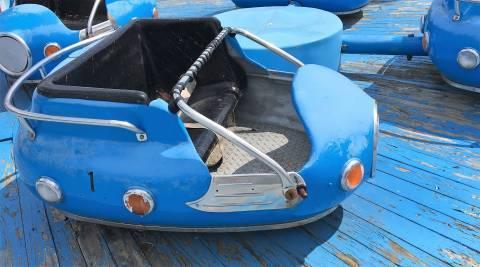 Calypso ride - before restoration