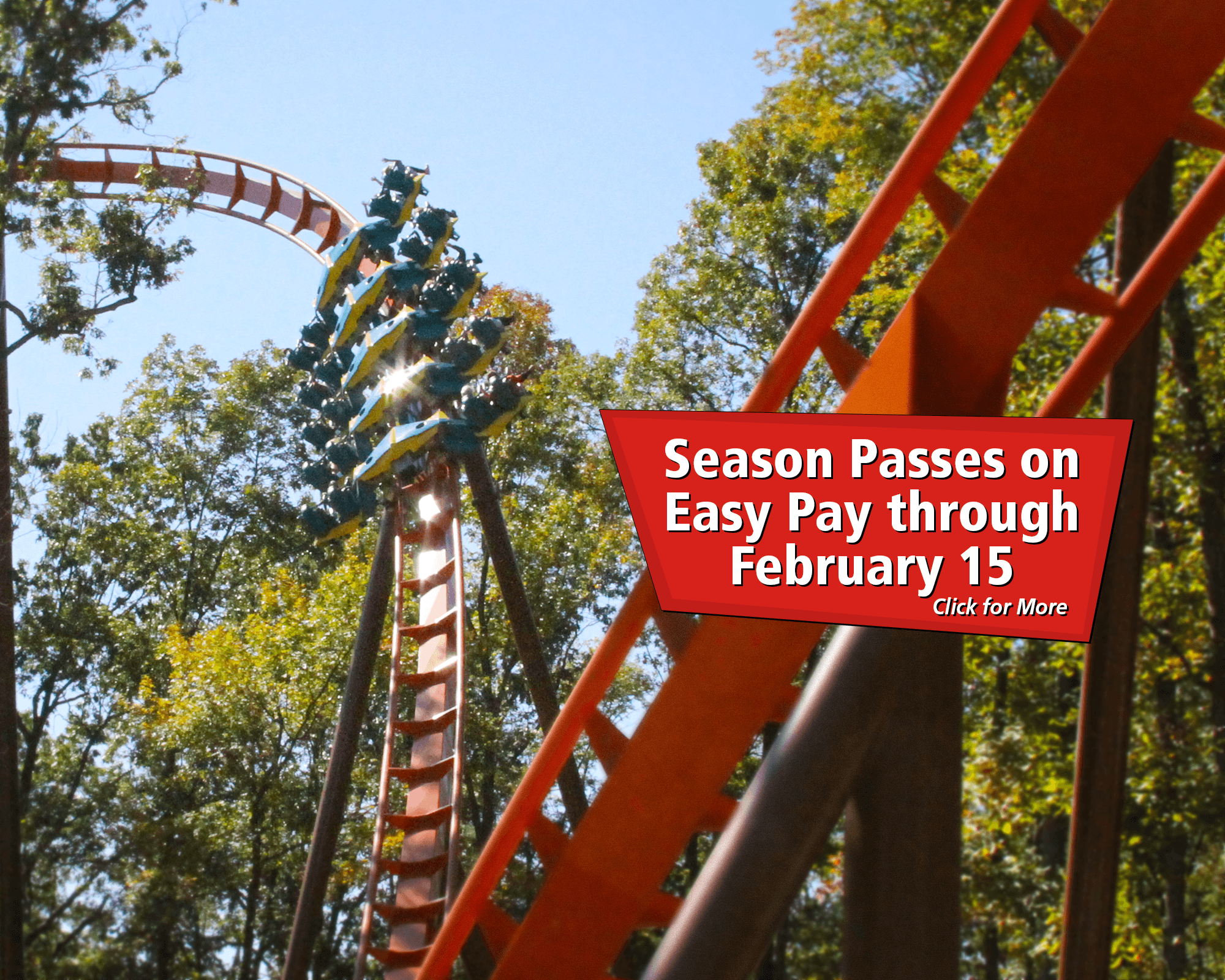 Season Passes on Easy Pay through February 15!