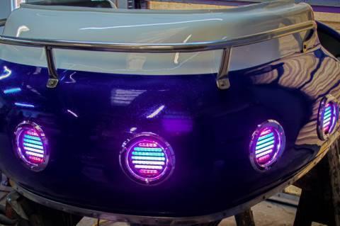 Firecracker cars with lights
