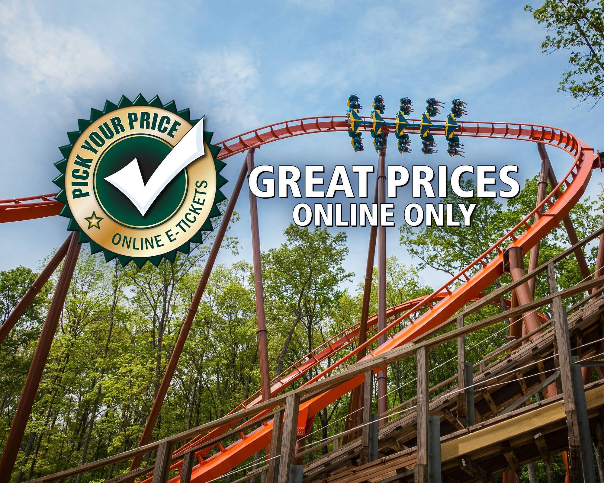 Pick Your Price | Holiday World & Splashin' Safari