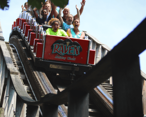 The Raven | Holiday World & Splashin' Safari