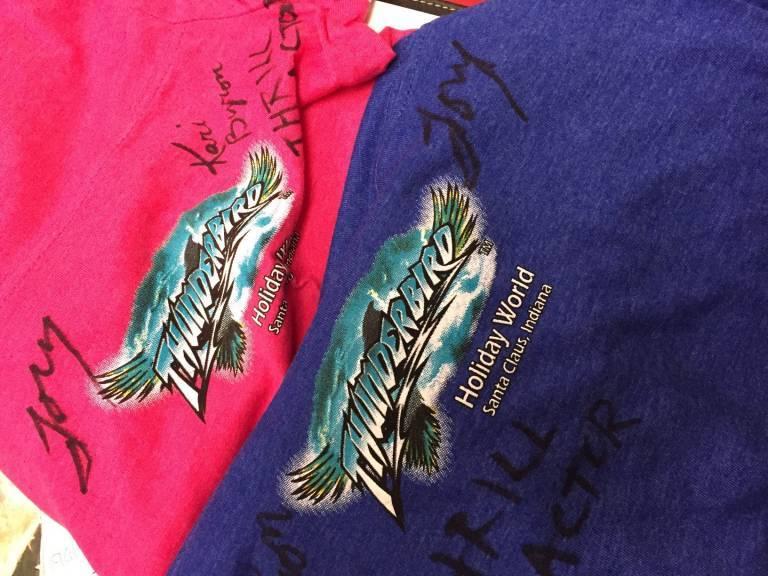Thrill Factor shirts