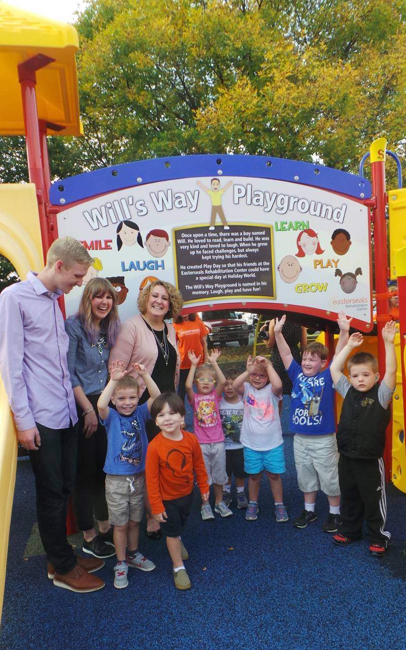 Will's Way Playground with Koch family