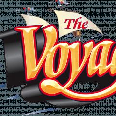 The Voyage Wooden Roller Coaster Logo