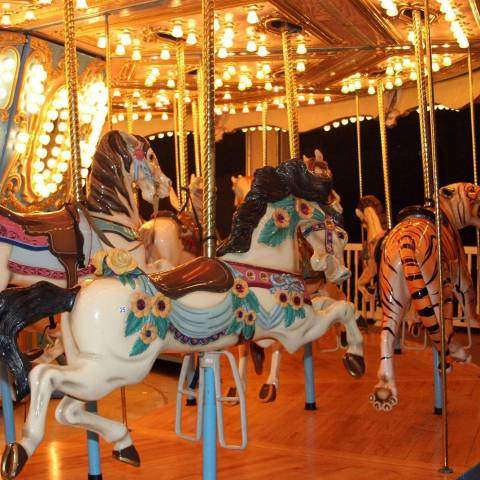 Star Spangled Carousel | Holiday World & Splashin' Safari