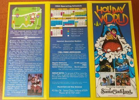1984 brochure front