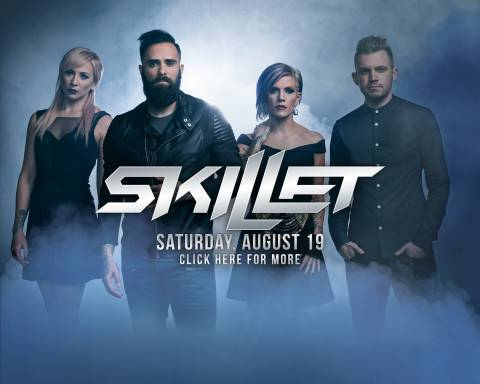 "Skillet Headlines ""Rock the World"" 2017!"