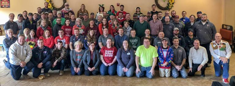 2018 Christmas Breakfast Staff Photo