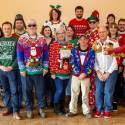 2018 Ugly Sweaters at Christmas breakfast