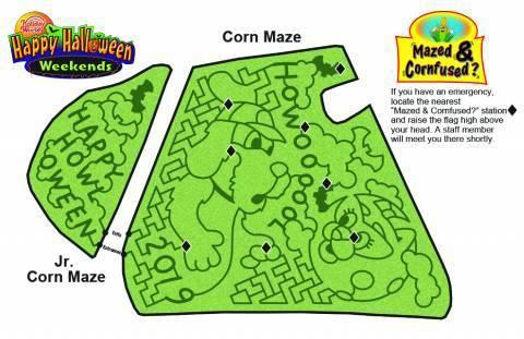 2019 Corn Maze Map