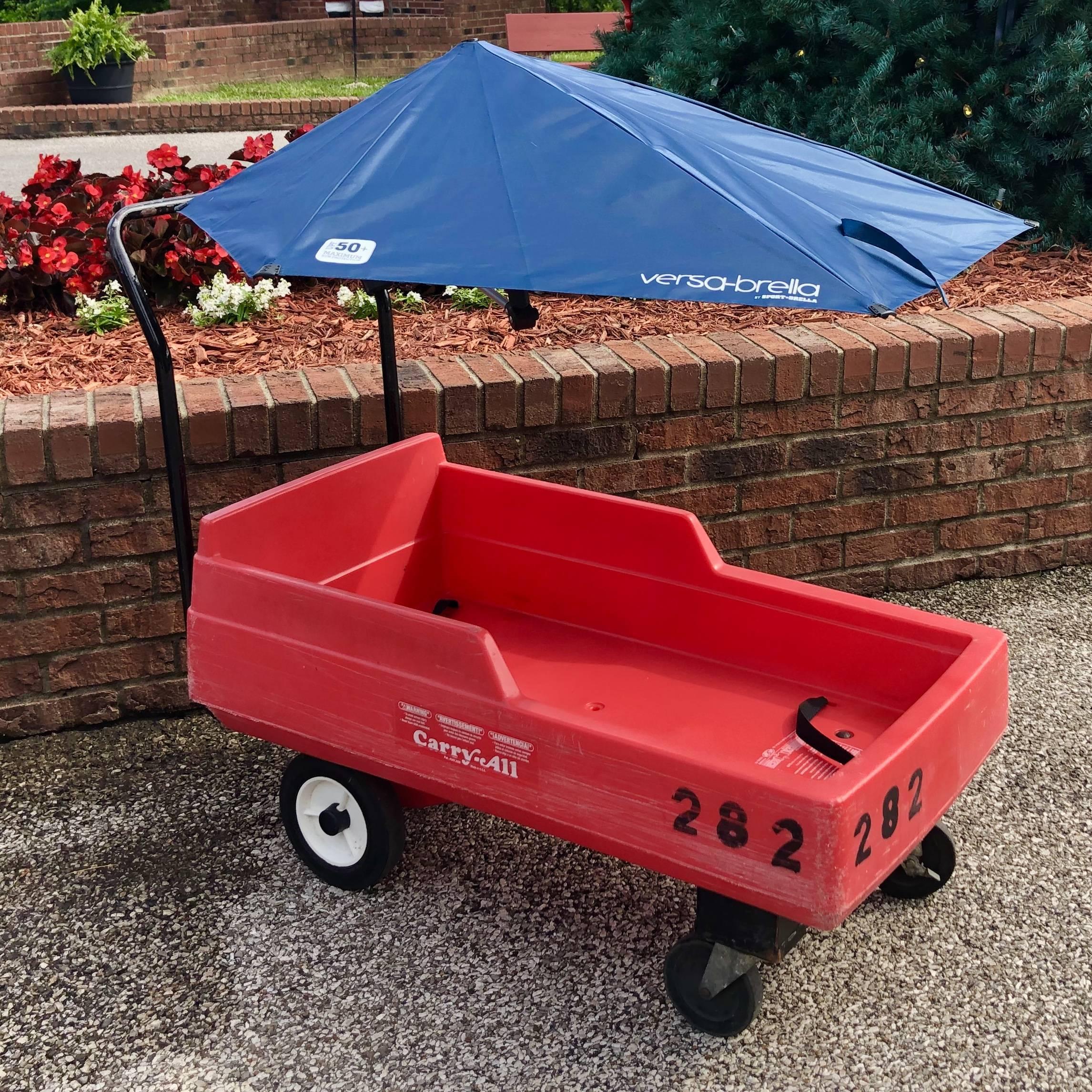 Shaded Wagon Rental