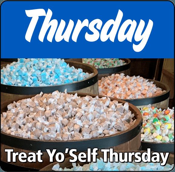 Treat Yo'self Thursday