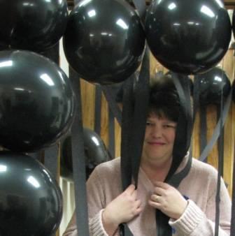 Susan's birthday balloons