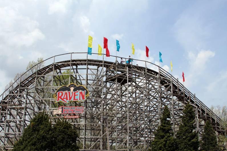 Raven roller coaster
