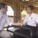 48 Hours' correspondant Richard Schlesinger and park president Will Koch