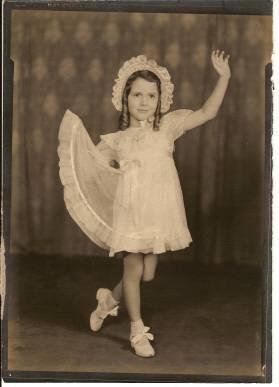 Mrs. Koch as a child