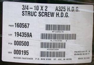 screw label