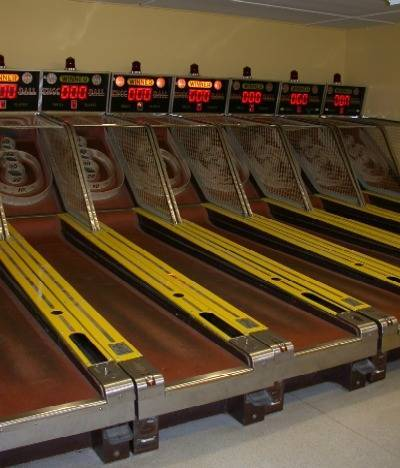 Original Skeeball machines