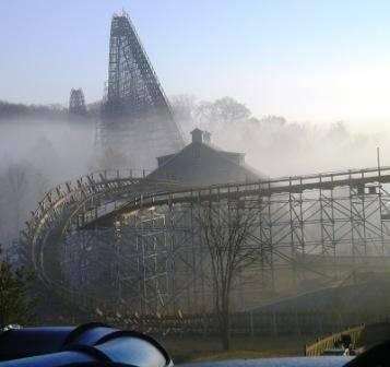 Fog over Voyage