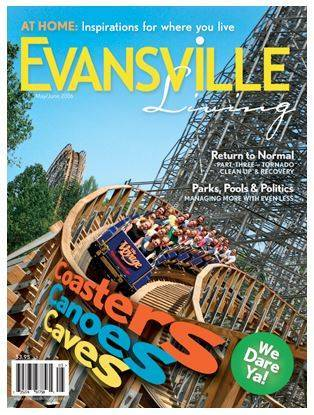 Evansville Living cover story