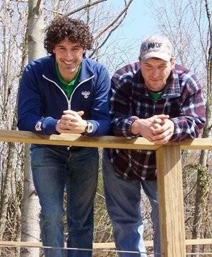 Ethan Zohn and Craig at Voyage