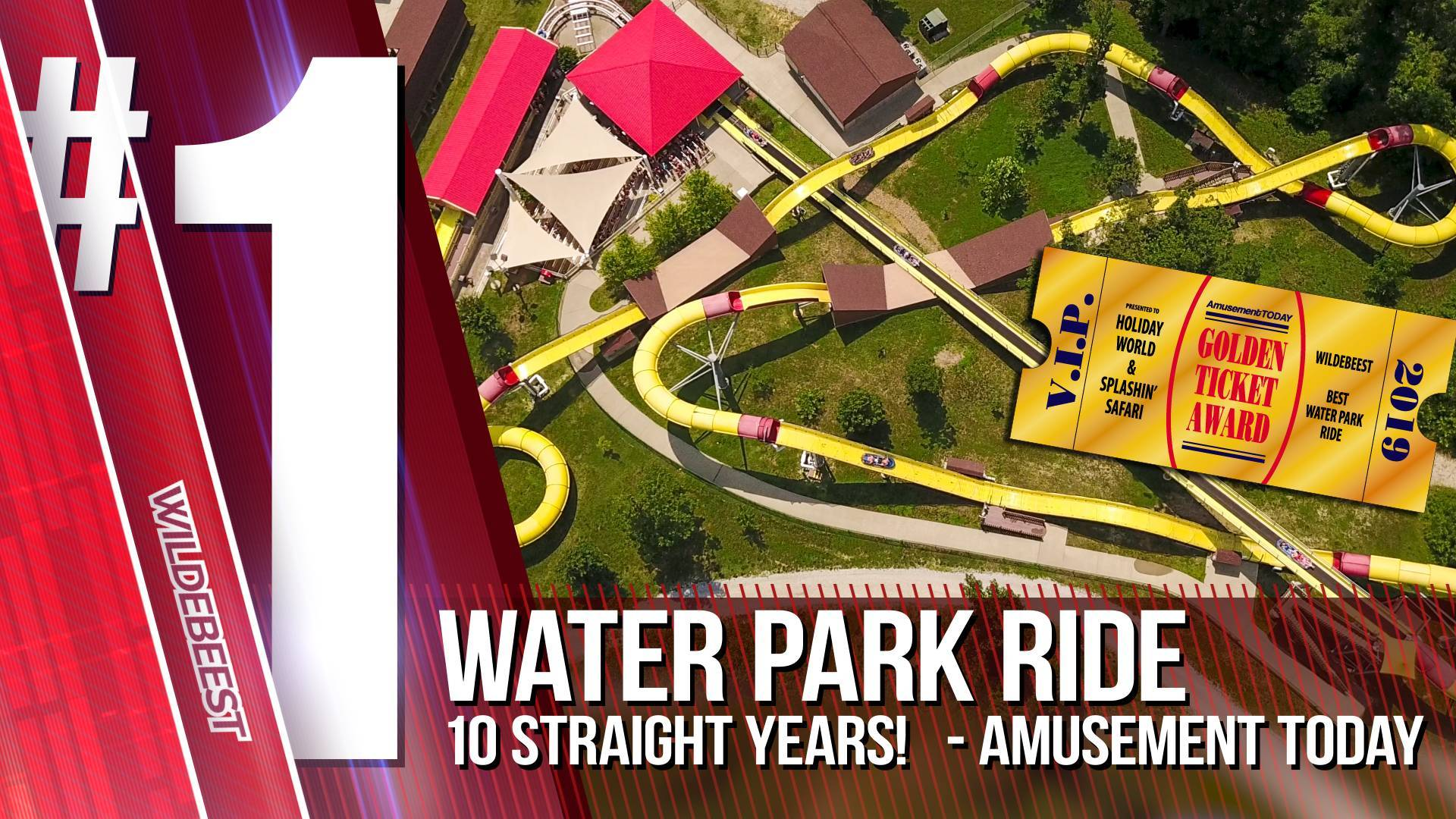 Wildebeest: #1 Water Park Ride for 10 Straight Years - Amusement Today