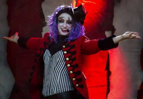 Lights Out: Amanda as Ringmaster