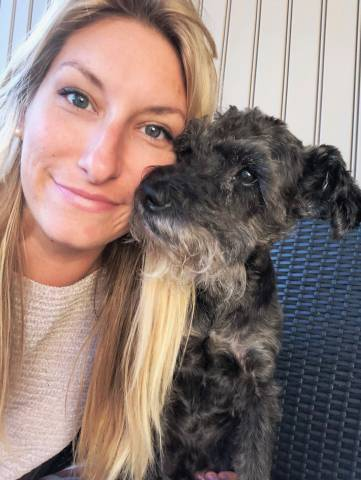 Ashley and Pax | National Love Your Pet Day 2019
