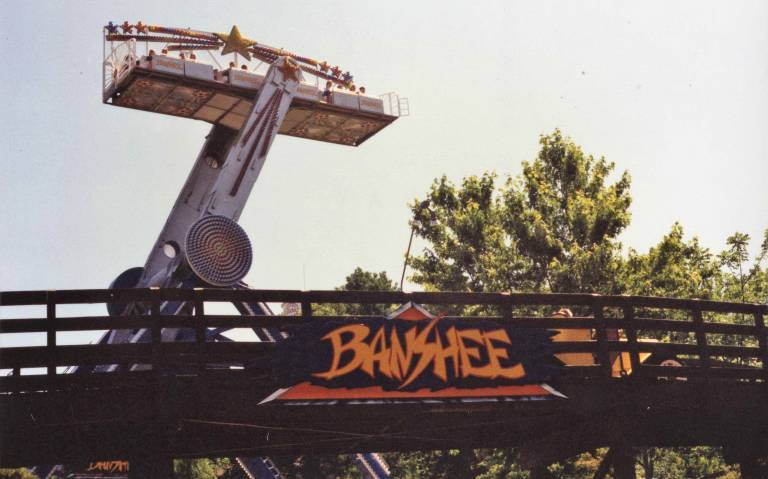 "Banshee ""Falling Star"" ride"