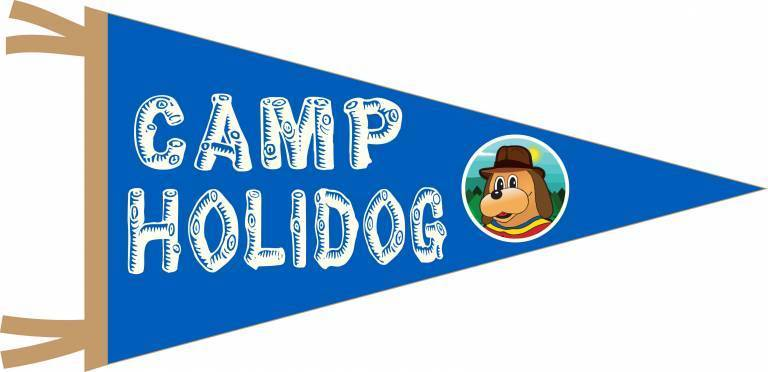 Camp Holidog pennant