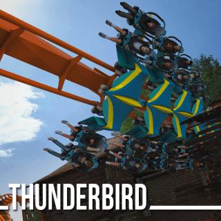 Thunderbird Roller Coaster
