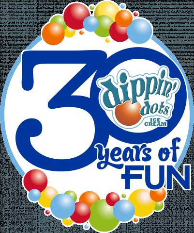 Dippin' Dots 30th Anniversary logo