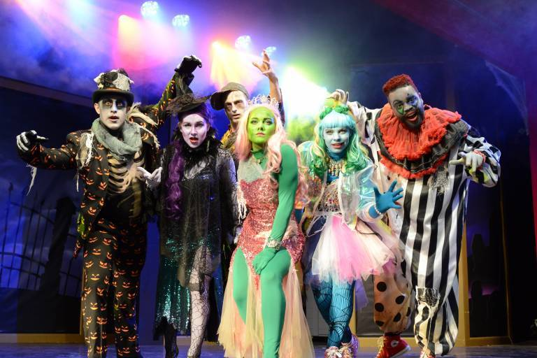 Our Monster Mash Cast stirs up a fright!