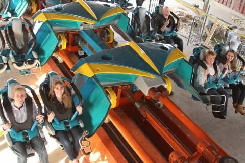 First Thunderbird rides