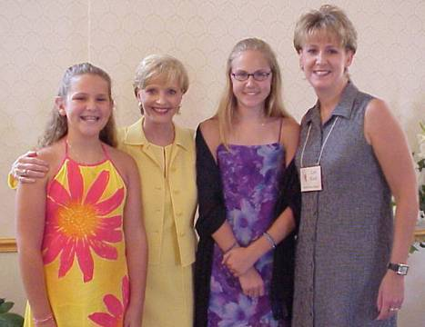 Florence Henderson with the Kochs