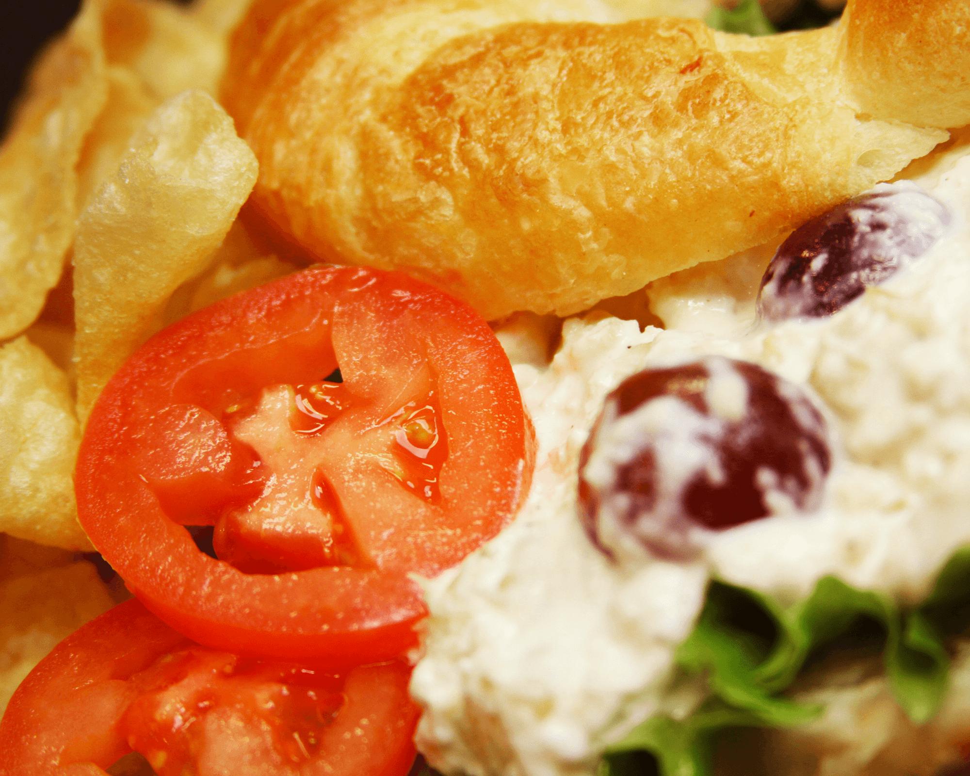 Chicken Salad Sandwich  Holiday World & Splashin' Safari