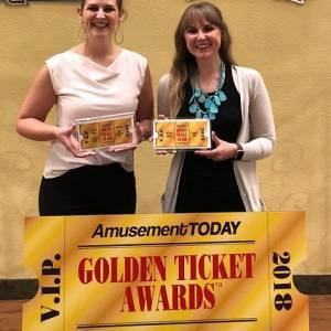 Golden Ticket Awards - Lauren & Leah