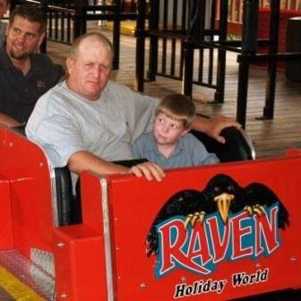 Gary and James on The Raven