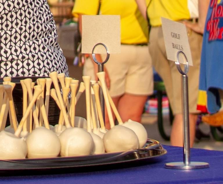 Golf Ball cake balls