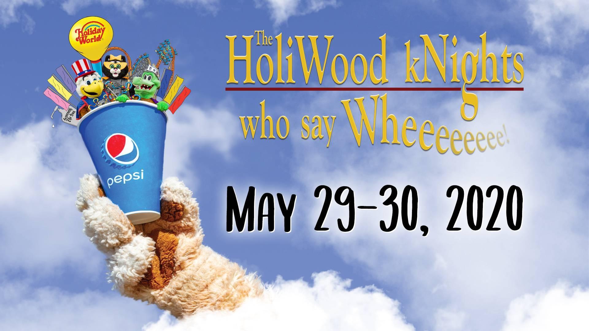 HoliWood Nights flyer