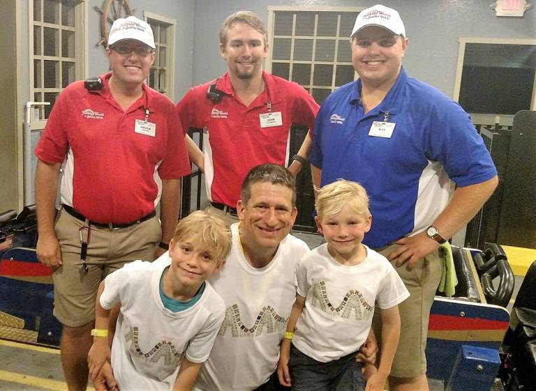 Theme Park Families Podcast at Holiday World