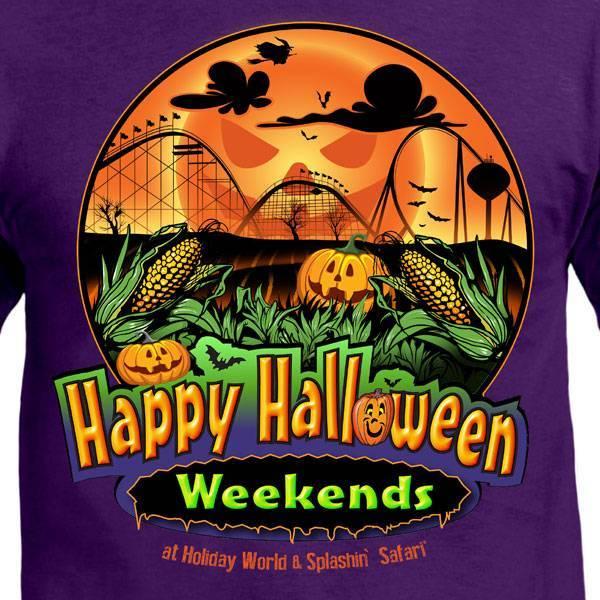 Happy Halloween Weekends shirt design