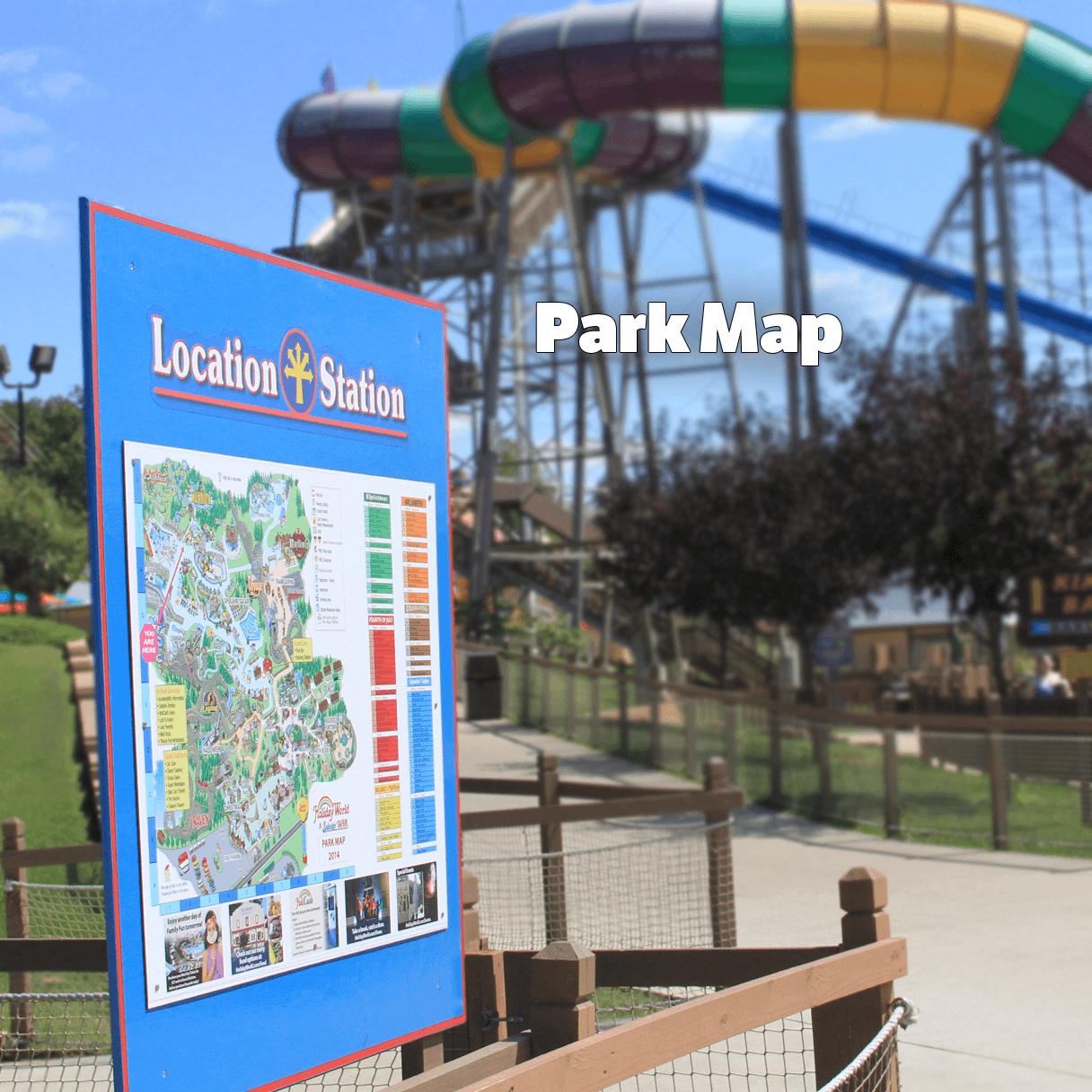 Holiday World & Splashin' Safari Park Map | Holiday World & Splashin' Safari