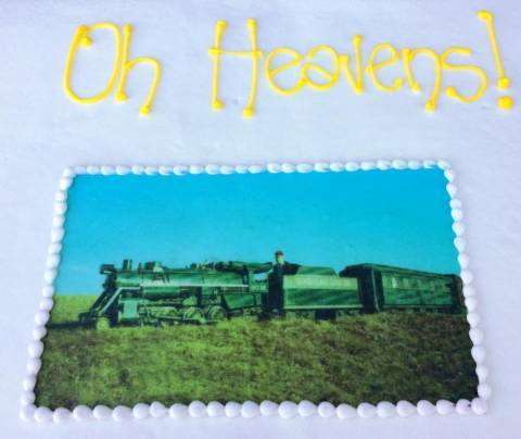 """Oh heavens!"" cake"