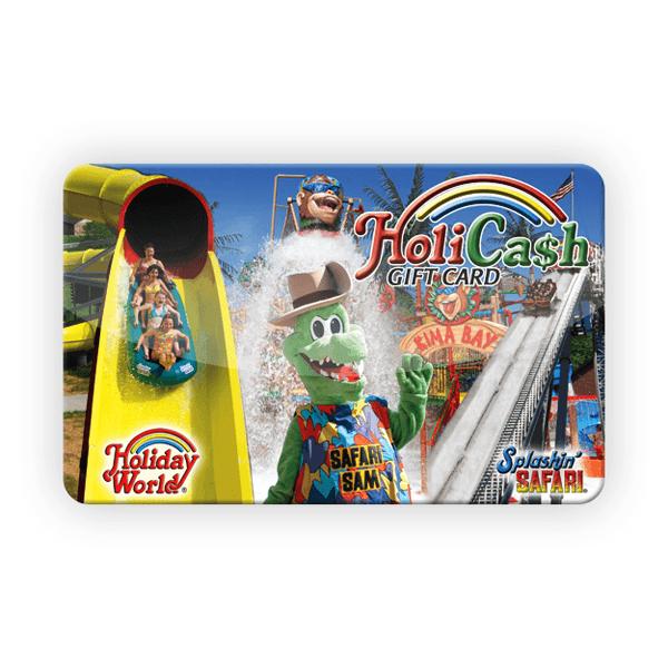 HoliCash - Splashin Safari Card | HoliShop