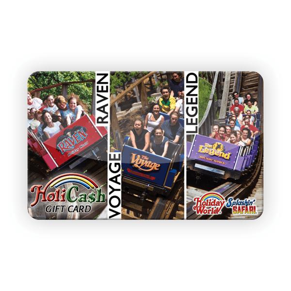 HoliCash - Wooden Coaster Card | HoliShop