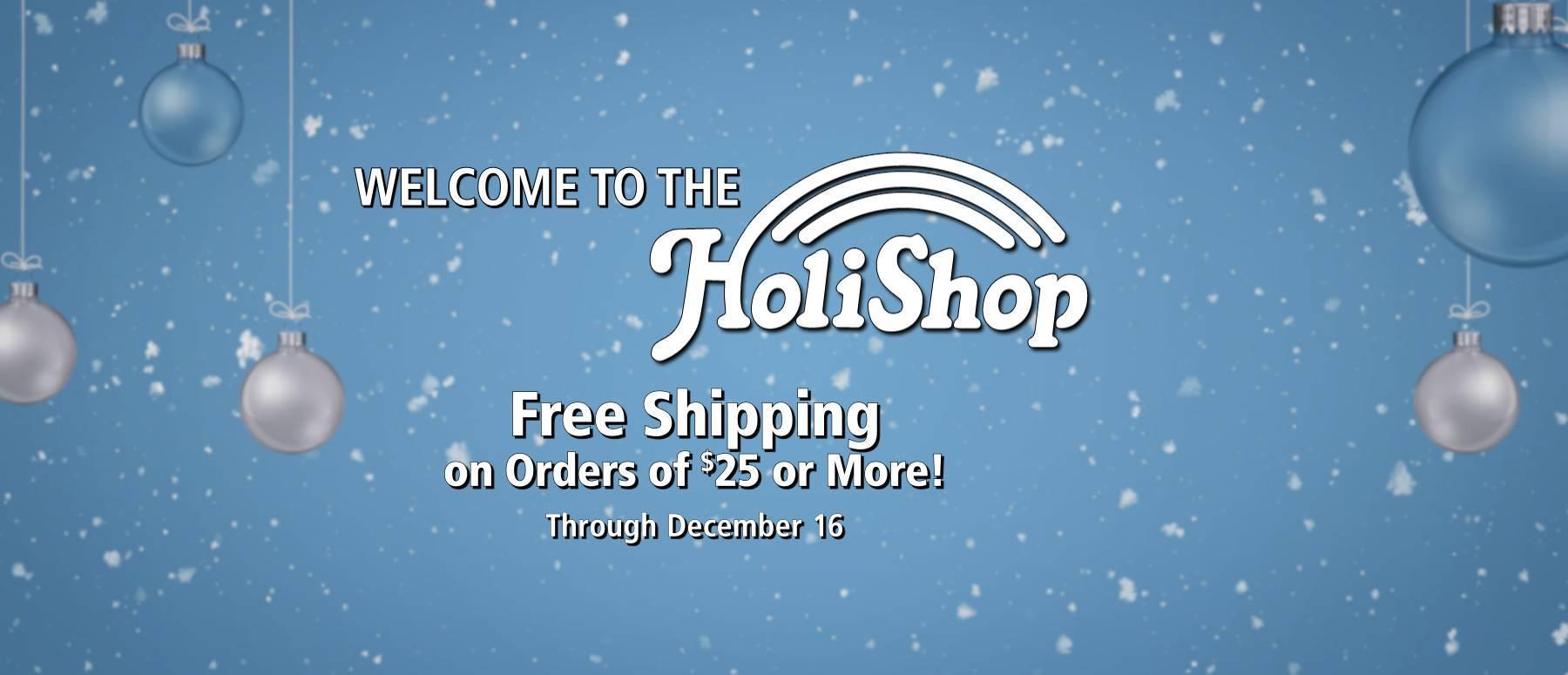 Welcome to the HoliShop!