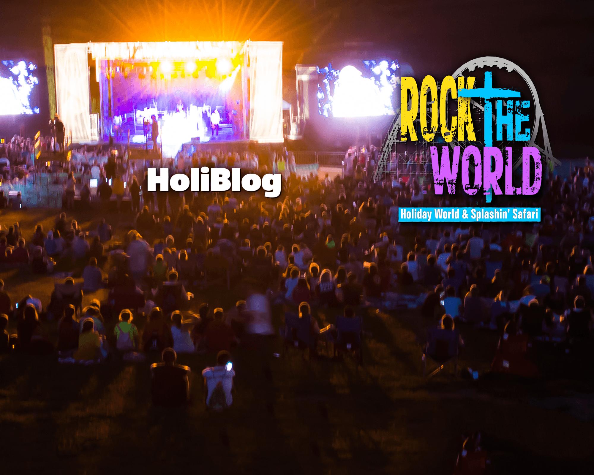 Holiblog - Rock the World | Holiday World & Splashin' Safari