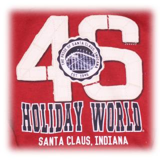 Holiday World 46 Hoodie - Close-up