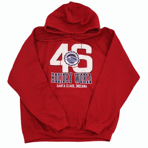 Holiday World 46 Hoodie – Red